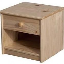 chevets en pin au gr du pinceau. Black Bedroom Furniture Sets. Home Design Ideas