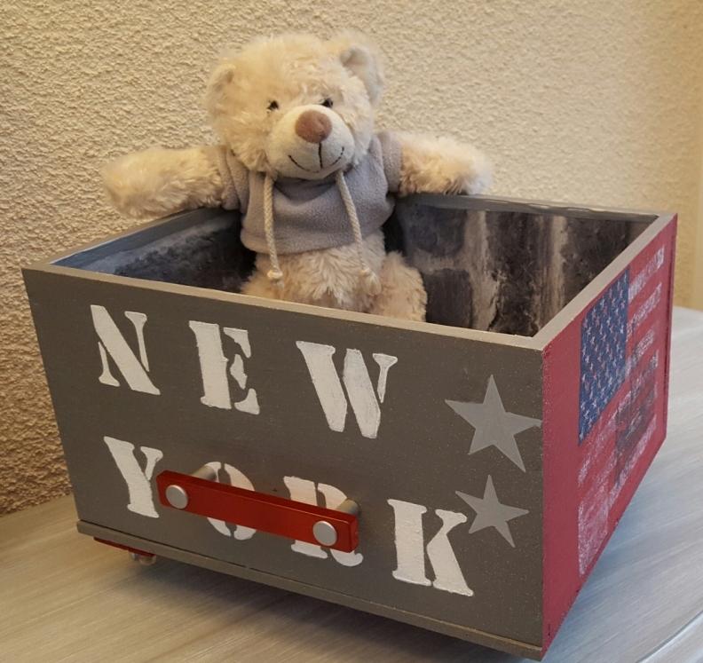 info pour 77e77 7e8b9 Boîte de rangement New York | Au gré du pinceau
