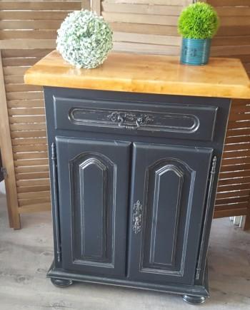 augredupinceau_meuble d'appoint_shabby_ industriel 1