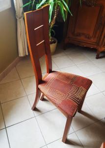 Chaise à l'origine