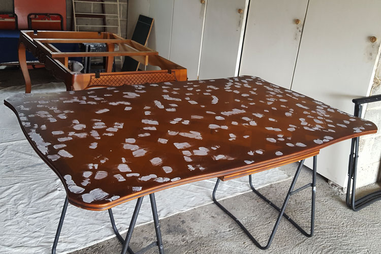 restauration de la table