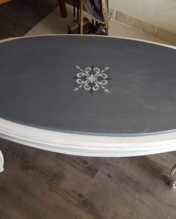 augredupinceau_table merisier louis XV_béton nacré 4