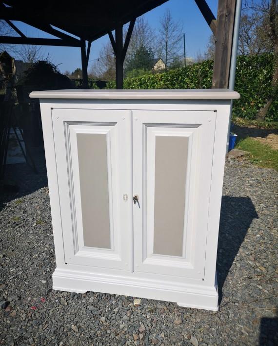 augredupinceau_meuble TV bicolore 1