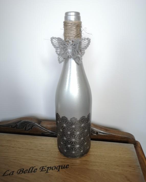 augredupinceau_bouteille verre_argent 1