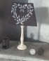 """Lampe """"cœur romantique"""""""