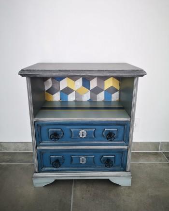augredupinceau_meuble d'appoint_chevet bleu Flandres 1_compressed