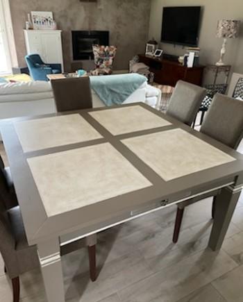 augredupinceau_table carrée_façon béton patiné 1
